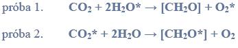 Źródło tlenu w procesie fotosyntezy.