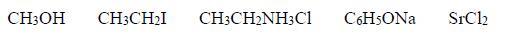 Wykrywanie wiązania jonowego w cząsteczkach.
