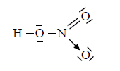 Struktura elektronowa kwasu azotowego (V)