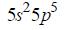 Liczby kwantowe elektronów walencyjnych.