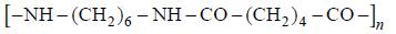 Reakcja polikondensacji, powstawanie nylonu.
