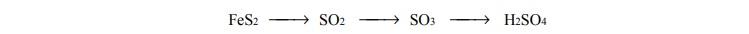 Substratem do otrzymywania pirytu jest kwas siarkowy (VI)