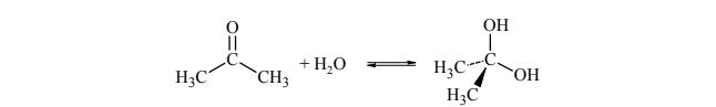 Reakcje aldehydów i ketonów prowadzące do otrzymania dioli
