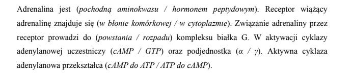 Mechanizm aktywacji fosforylazy glikogenowej.