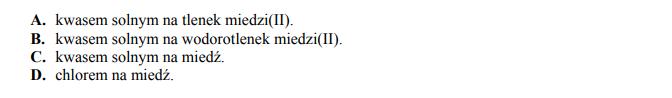 Otrzymywanie chlorku miedzi (II)