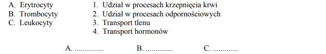 Funkcje krwinek, rola elementów morfotycznych.