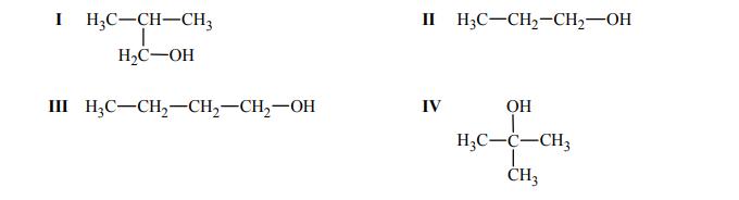 Izomery 2-metylopropan-1-olu