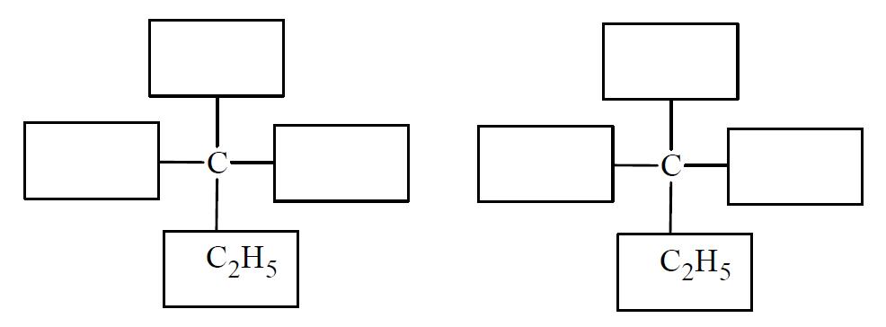 Chiralność kwasu 2-hydroksybutanowego.